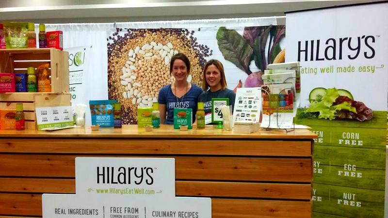 Hilarys Eat Well DC Green Festival