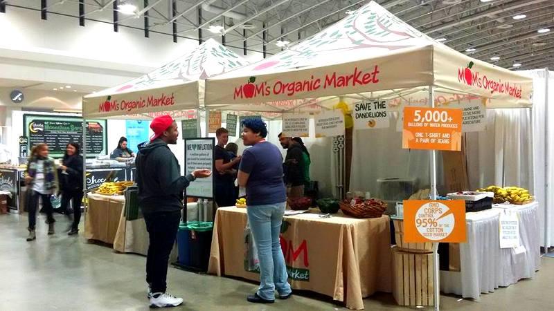 MOMs Organic Market DC Green Festival