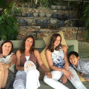 Tara and kids