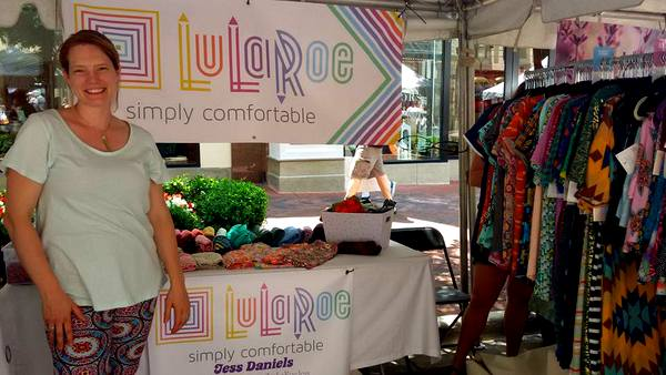 2016 Love Your Body Yoga Festival Jess Daniels of LuLaRoe
