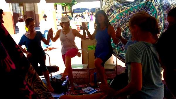 2016 Love Your Body Yoga Festival Speakeasy tent 2