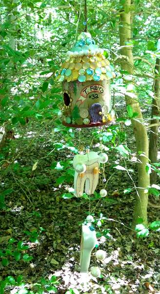 Annmarie Sculpture Garden tooth fairy home