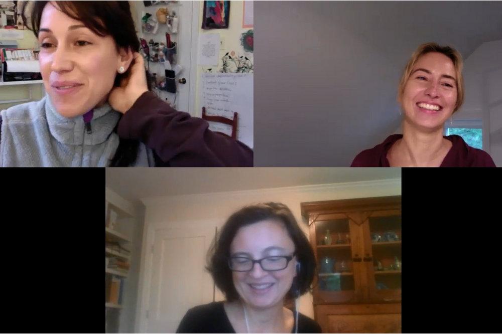 Pleasance Silicki Alexandra Hughes Jessica Claire Haney Interview