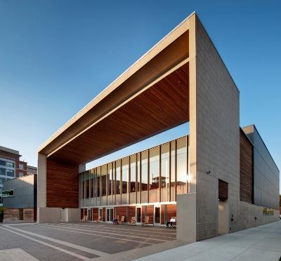 Silver Spring Civic Center, Location: Silver Spring MD, Architect: Machado and Silvetti