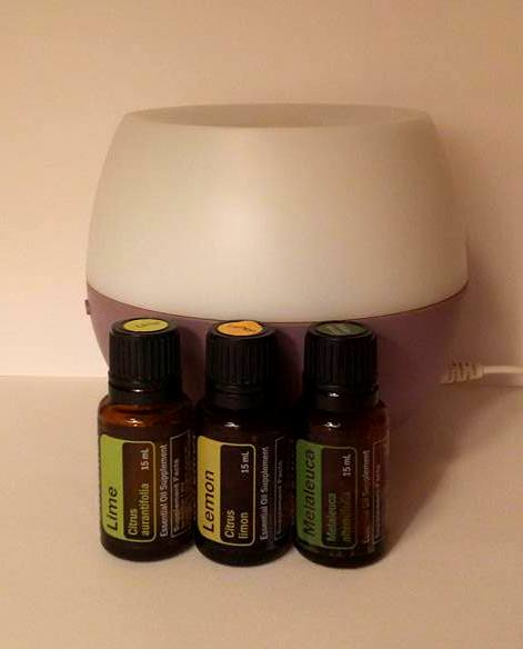 Essential Oils with diffuser-001