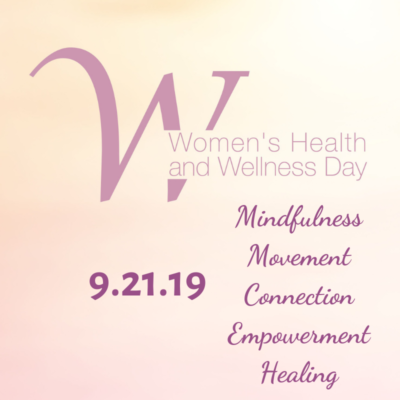 Women's Health and Wellness Day 9/21 expands for its third year!