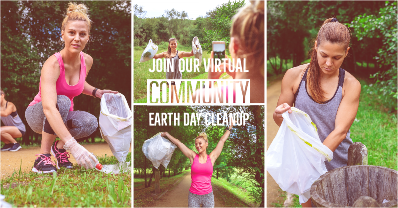 Virtual Earth Day Cleanup